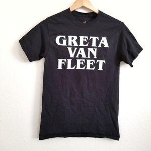 Greta Van Fleet Black Graphic T Shirt S